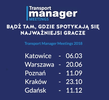 Konferencje Transport Manager Meeting 2018