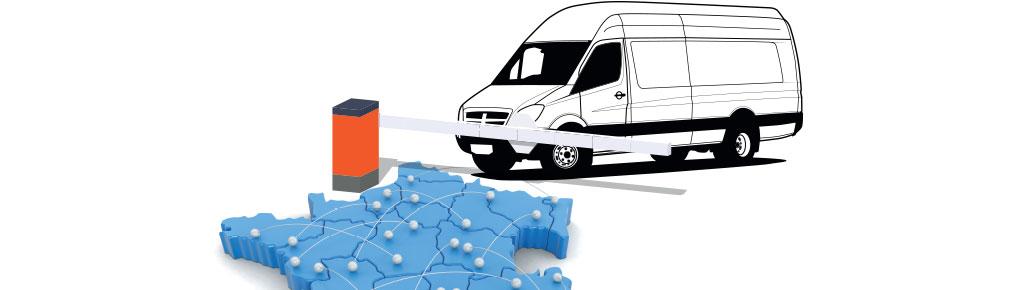 Francuzi regulują transport dostawczymi